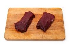 Стейки мяса верблюда Стоковое Изображение RF