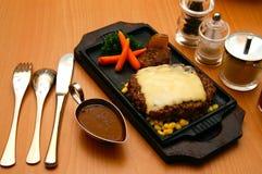 стейк говядины вкусный Стоковые Изображения