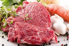 стейк говядины Стоковое Изображение