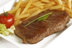 стейк говядины Стоковая Фотография