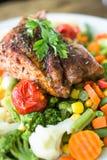 Стейк, говядина, обедающий, обед Стоковые Изображения RF