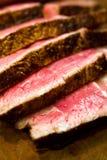 стейк зажженный говядиной Стоковое фото RF