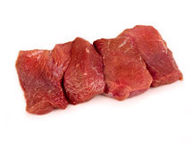 стейк мяса сырцовый Стоковые Изображения