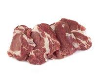 стейк мяса сырцовый Стоковая Фотография