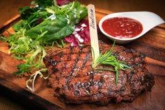 Стейк мяса Стоковая Фотография