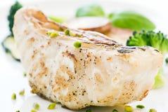 стейк попыгая рыб Стоковые Фотографии RF