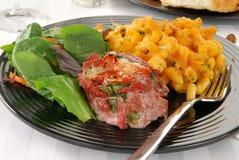 стейк салата стоковое изображение