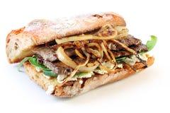 стейк сандвича Стоковое Изображение