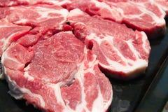 стейк свежего мяса сырцовый стоковая фотография rf