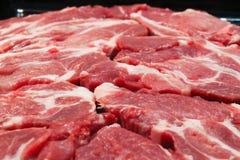 стейк свежего мяса сырцовый стоковые изображения rf