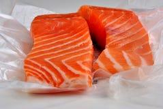 стейк свободного полета ирландский salmon на запад одичалый Стоковые Изображения RF