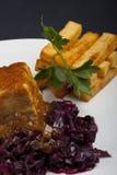 стейк соуса свинины Стоковое Фото