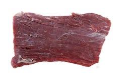Стейк фланка сырцовый стоковое изображение