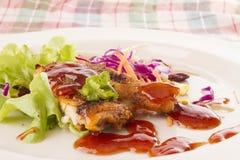 стейк цыпленка Стоковая Фотография