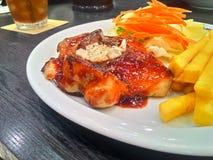 стейк цыпленка Стоковые Фото