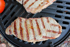 Стейк BBQ Стоковое Изображение RF