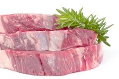 стейк rosemary выкружки говядины Стоковое Фото
