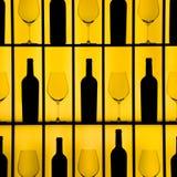 стекла бутылок Стоковое Изображение