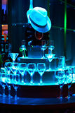 Стекла вина и коктеила Стоковая Фотография RF