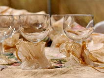 Стекла вина Стоковые Фотографии RF