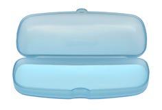 стекла голубой коробки пустые сладостные Стоковое фото RF