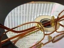 стекла диска laing лазер стоковая фотография