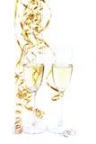 стекла звенят wedding вино 2 Стоковое фото RF