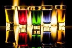 стекла коктеилов Стоковые Изображения RF
