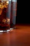 стекла колы Стоковое фото RF