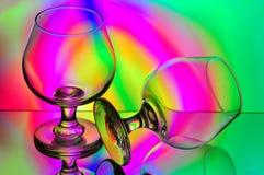 стекла конгяка стоковые изображения rf