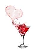 Стекла красного вина Стоковое Изображение
