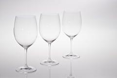 Стекла красного или белого вина Стоковые Изображения RF