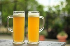 стекла пива 2 стоковые изображения rf