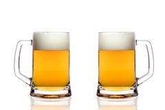 стекла пива Стоковое Фото