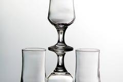 стекла расположения пустые Стоковое Изображение