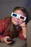 стекла ребенка 3d Стоковое Изображение RF