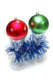 стекла рождества шариков Стоковое Изображение
