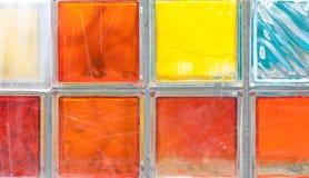 стекла фонтана кубика Стоковая Фотография