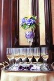 Стекла Шампани Стоковое Изображение