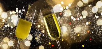 стекла 2 шампанского Стоковое Фото