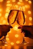 стекла шампанского Стоковое Изображение