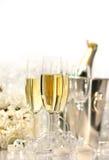 стекла шампанского wedding Стоковая Фотография