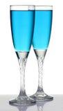 Стекла Шампань Стоковые Фотографии RF