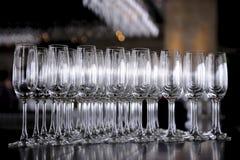 Стекла Шампань Стоковое Фото