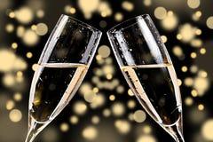 Стекла Шампань Стоковые Изображения RF