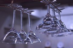 стекла штанги Стоковое Фото