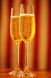 стекла 2 шампанского Стоковая Фотография