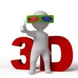 стекла 3d бесплатная иллюстрация
