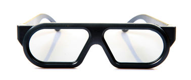 стекла 3d стоковое изображение