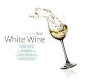 Стекло белого вина Стоковые Фото
